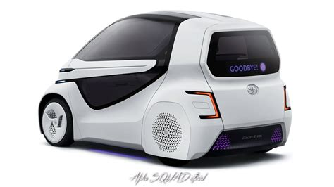 2018 Toyota Concept by 2018 Toyota Concept I Ride Self Driving Car For Disabled