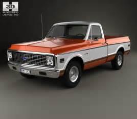 Chevrolet Truck Models List Chevrolet C10 Cheyenne 1971 3d Model Humster3d
