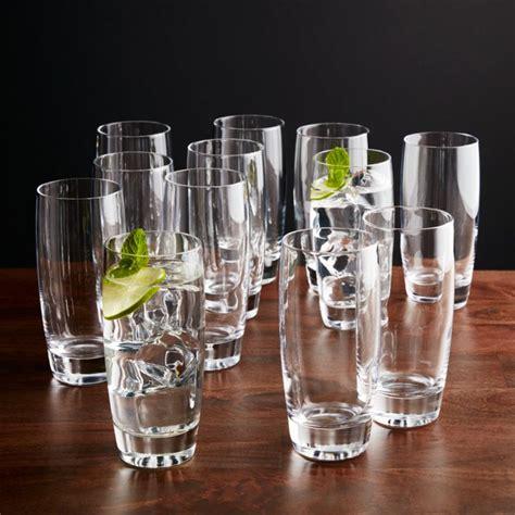 otis highball glasses set   reviews crate  barrel