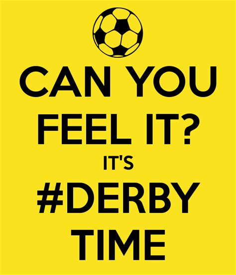 Can You Feel It can you feel it it s derby time poster maxwell keep