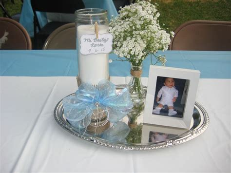 baptism decorations centerpieces 1000 ideas about baptism centerpieces on boy