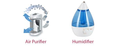difference  air purifier  humidifier wiki humidifier