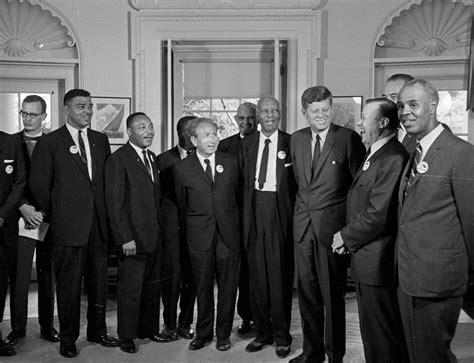 john f kennedy civil rights activist u s thurgood marshall jfk and the civil rights movement