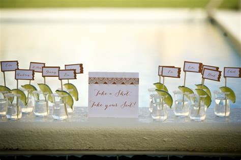 Orange Home Decorations by Modern Mexico Inspired Wedding Ideas Every Last Detail