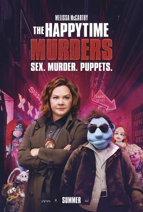 Murder In Time review the happytime murders 2018