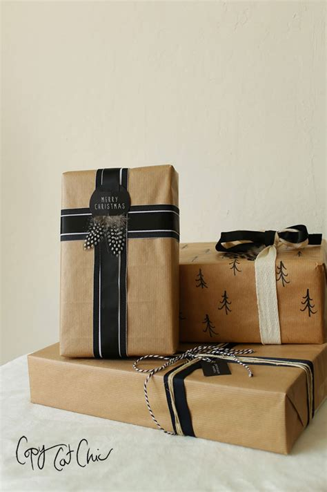 cheap gift wrapping copy cat chic gift wrap on the cheap with lowe s