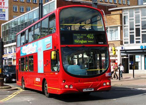london bus routes route  warlingham west croydon