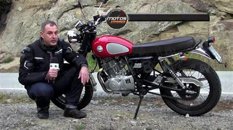 Mash 125 Motorrad Test by Motos X1000 Test Mash Two Fifty Youtube