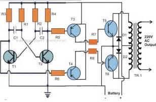 50 watt small inverter circuit a science