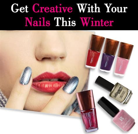 neat concerbative nails get creative with your nails this winter