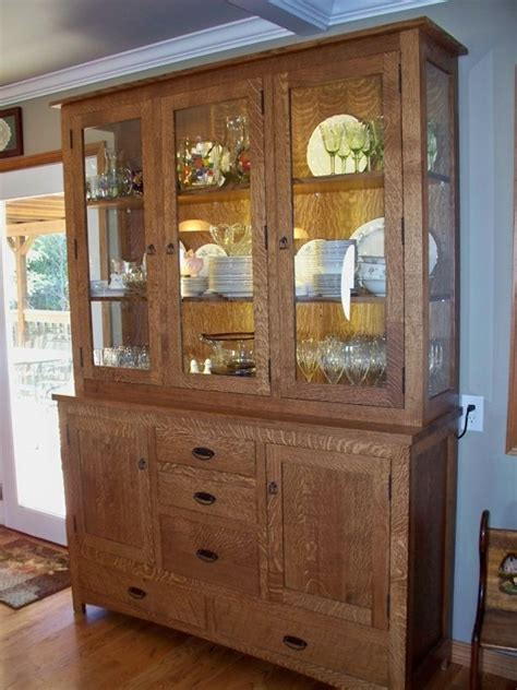 Handmade Hutches - handmade china cabinet by oak tree cabinetry custommade