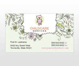 20 Best Child Care Business Cards Images On Pinterest Business Cards Carte De Visite And Babysitting Card Template