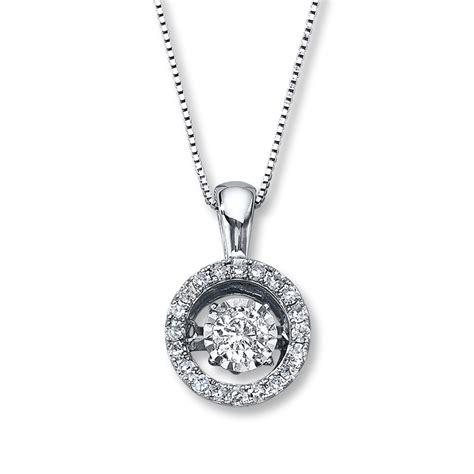 diamonds in rhythm 1 2 ct tw necklace 14k white gold
