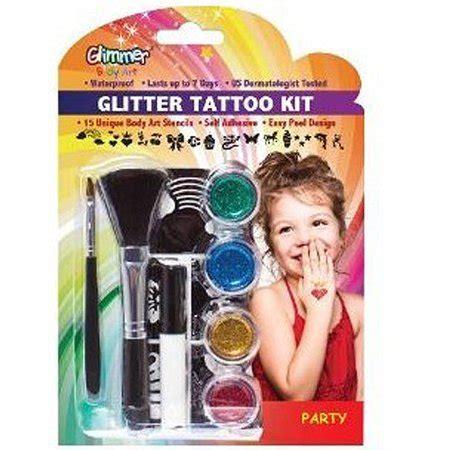 henna tattoos kits walmart glimmer glitter kit walmart