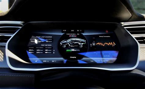 Tesla Roadster Dashboard This Is What The Best Car Made Looks Like Ndtv