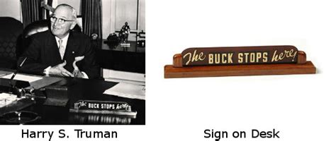 the buck the buck stops here quote investigator