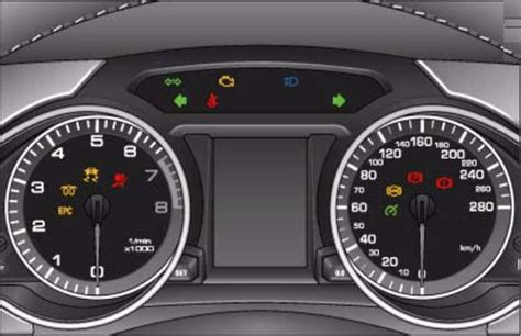 audi dashboard a5 audi a5 dash lights