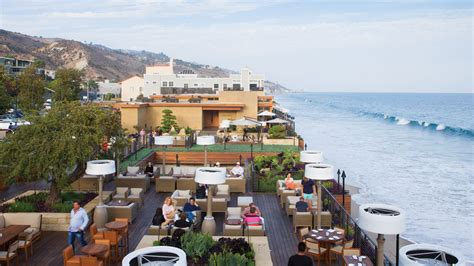 malibu restaurant malibu restaurants nobu and how larry ellison