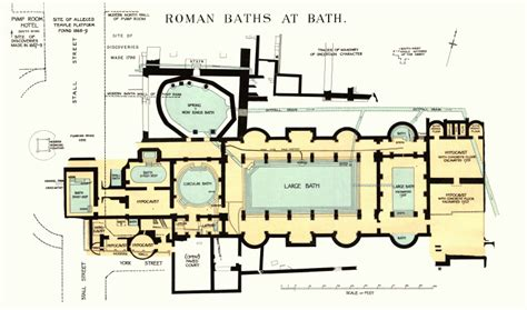 layout of roman bath house layout of roman bath house house best art