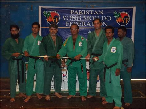 moo do yong moo do seminar at pakistan sports board the