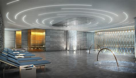 steam room nyc new york s newest fitness club offers city views from swimming pools observer
