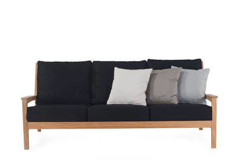 modern contract furniture 3 seater sofa stellar couture outdoor