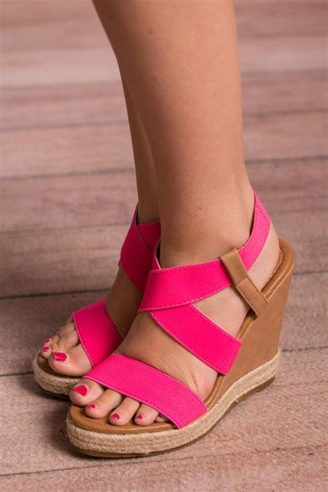 Wedges Pink 25 best ideas about pink wedges on pink