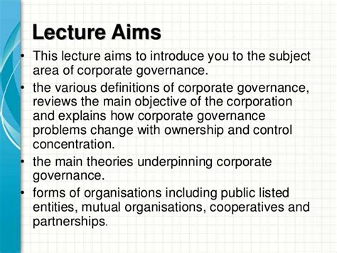 Mba Corporate Governance Questions And Answers by Mba1034 Cg Ethics Week 2 Corporate Governance Intro