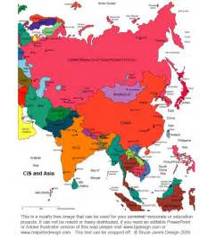 Printable Map Of Asia by Blank Colored Asia Map Images Amp Pictures Becuo