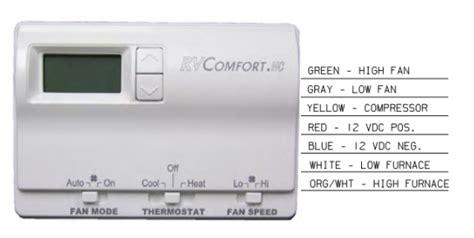 coleman mach rv thermostat wiring coleman free engine