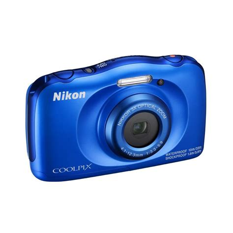 nikon photo nikon coolpix w100 waterproof blue nikon cameras