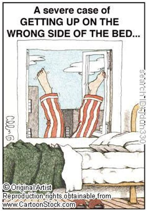 wrong side of the bed english idioms sayings and expressions get out of bed on