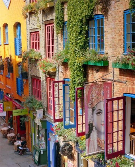 Neal S Yard Covent Garden by Neals Yard Colorful Places Around The World