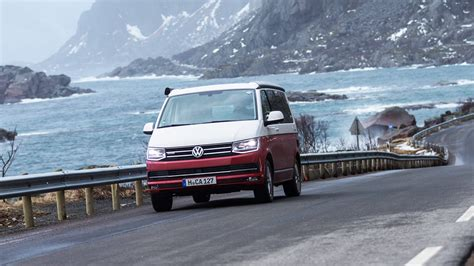 volkswagen california vw california 2017 review cing at the arctic circle