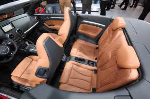 audi a3 cabriolet interior seats photo 5