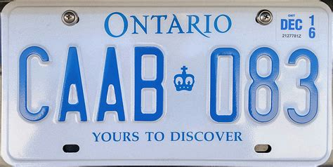 Ontario Vanity Plates by Untitled Document Www Plateshack