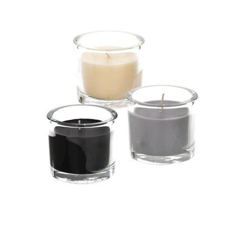 kaheku kerze im glas rusti 6 5 cm verschiedene farben - Weiße Kerzen Im Glas