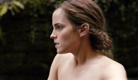 acensored celeb emma watson has cashed in her naked card in her new film