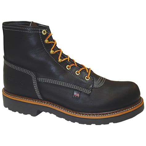 thorogood mens boots s thorogood 174 6 quot plain toe work boots 294149 work