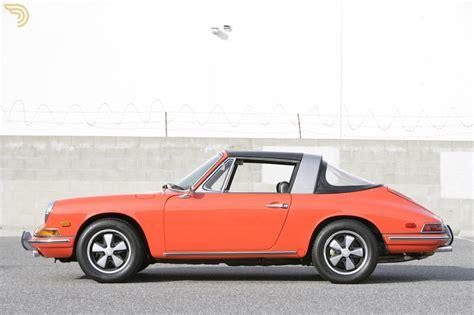 orange porsche targa 1968 porsche 911 window targa sportomatic