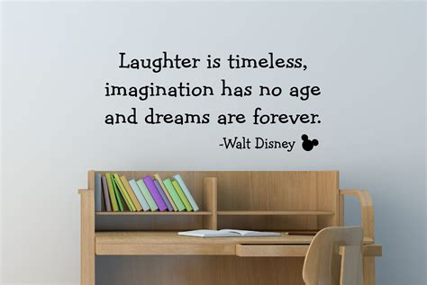 disney quote wall stickers walt disney quote decal vinyl decal wall decal wall