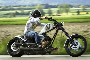 Motorrad Gabel Knarzt freds highnecker wild style custom