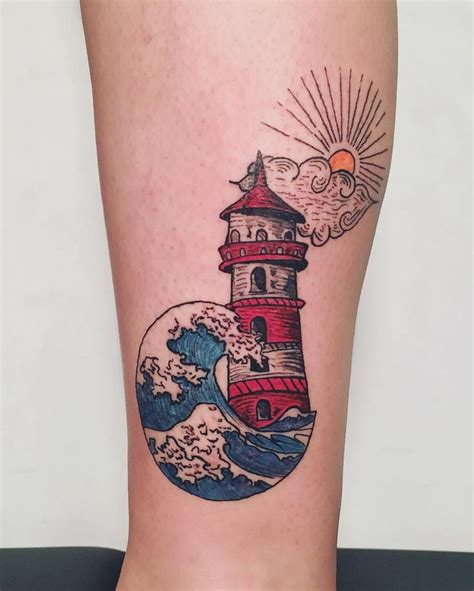 minimalist lighthouse tattoo 148 best my work images on pinterest minimal bear and