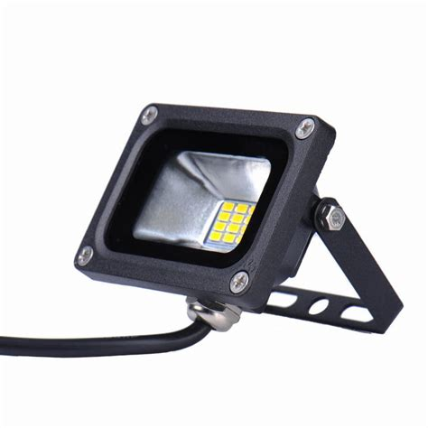 10pcs 12v 10w led mini flood light waterproof landscape