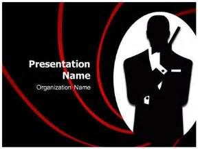 james bond powerpoint template background