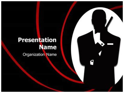 powerpoint templates james bond james bond powerpoint template background