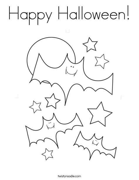 printable happy halloween coloring pages happy halloween coloring page twisty noodle