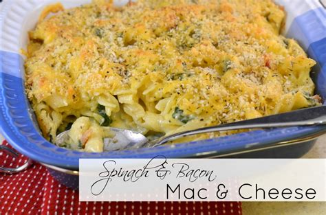 ina garten grown up mac and cheese spinach and bacon mac and cheese a crafty spoonful