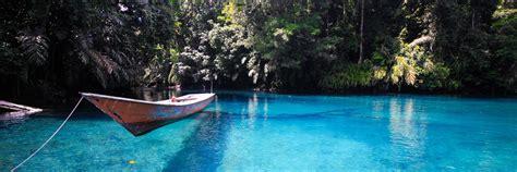 Cermin Tari danau cantik dua rasa danau labuan cermin indonesiakaya