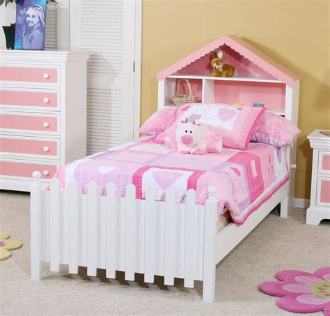 bed girl wooden toddler bed girls get peaceful tranquility with